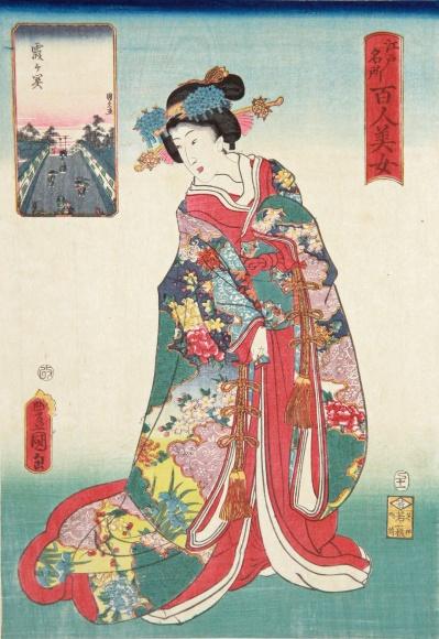 """江戸の女性たちから現代の""""kawaii""""のルーツを探る―さあ、太田記念美術館へ!"""