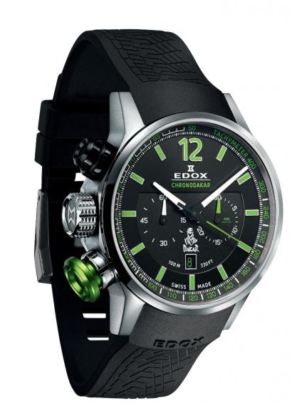 タフで超クールな、エドックスのダカールラリー公式腕時計。