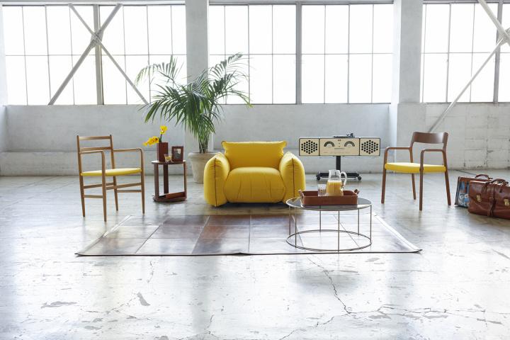 人気のイタリアブランドによる夢のコラボ! フェリージ×アルフレックスの家具が、限定受注販売されます。