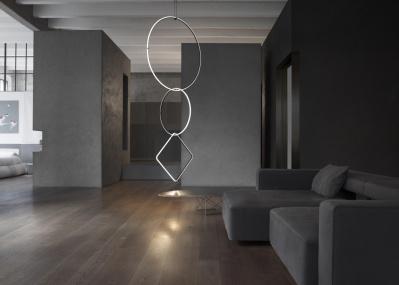 ミラノ・サローネで来場者を驚かせた、マイケル・アナスタシアデスの照明「Arrangements(アレンジメンツ)」を日本で初展示!