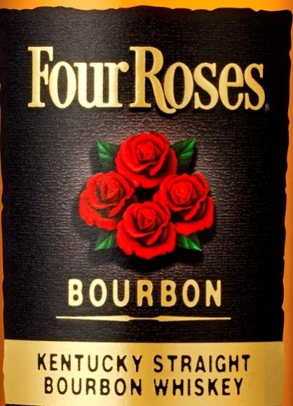 ケンタッキーの薔薇のバーボン、フォアローゼズのパッケージが新しくなりました。