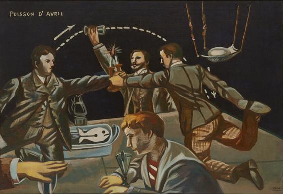 『福沢一郎展 このどうしようもない世界を笑いとばせ』、シニカルに世の中を見続けた画家の生き様を辿る。
