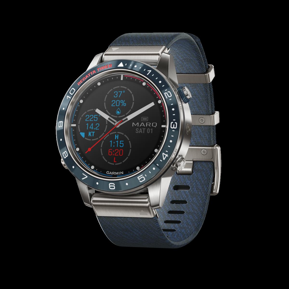 GPSデバイスのパイオニア「ガーミン」から、ハイテク高級なGPSプロウォッチ「MARQ」が新登場!
