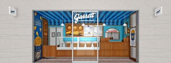 シカゴで生まれた 「ギャレット ポップコーン ショップス」が、東京駅地下に登場!