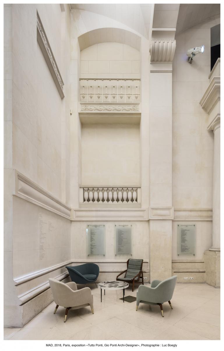 イタリア建築界の父、ジオ・ポンティ展がパリ装飾美術館で開催。パリの人々を魅了し、5月5日まで会期が延長されています。