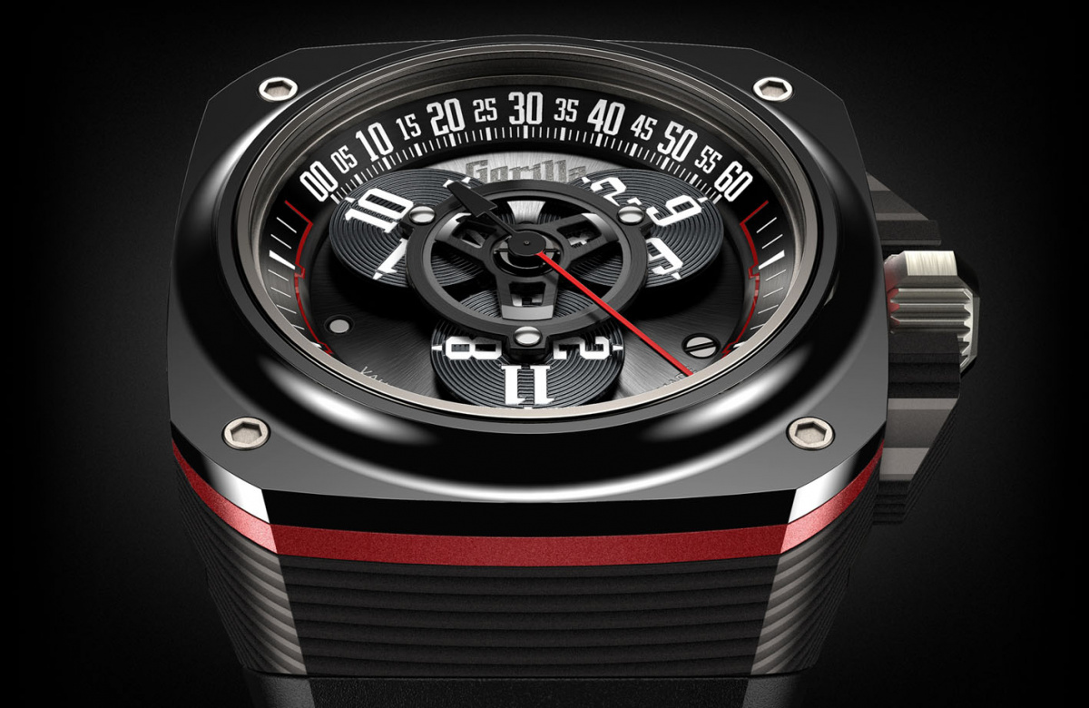気鋭のブランド「ゴリラ」が、日本人時計師と驚くべき低価格の複雑時計を開発。