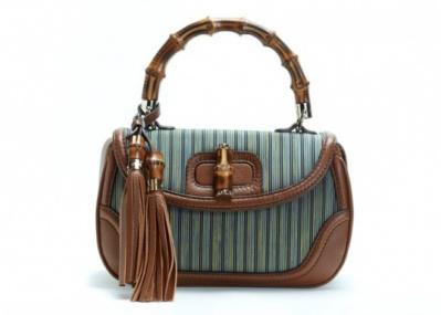 日本の伝統織物とコラボした、「グッチ」のバッグが登場。