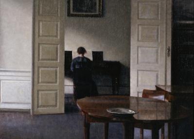 「語らない室内」に吸い込まれる、『ハマスホイとデンマーク絵画』展。