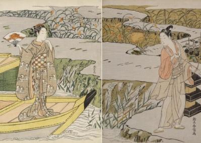 貴重なコレクションがボストンから来日! 江戸の浮世絵師、鈴木春信の名品を目撃せよ。