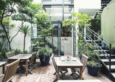 緑に囲まれた表参道にオープンする、「ヘルシー・ビア・ガーデン」を見逃すな。