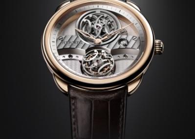 エルメスの新作時計は、世界176本限定のフライング・トゥールビヨン初搭載機。
