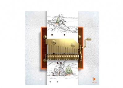 心温まる音色とメッセージを贈ろう!「エルメス」のXmasウェブサイト「旅するオルゴール」