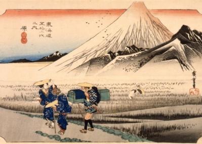 新年は江戸東京博物館で、広重の『東海道五拾三次』をコンプリート!