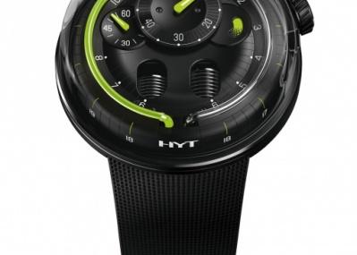 世界を驚かせた液体表示のハイブリッド機械式時計、「HYT」がシンプル&モダンに。