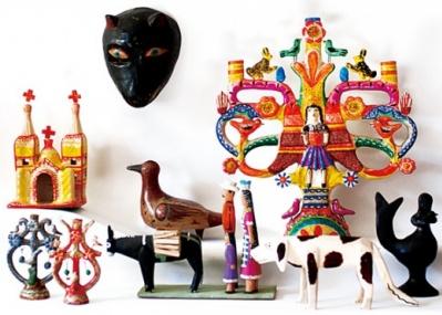 メキシコの民芸品に注目した企画展が、「イデー」と「Swimsuit Department」のコラボで行われます!