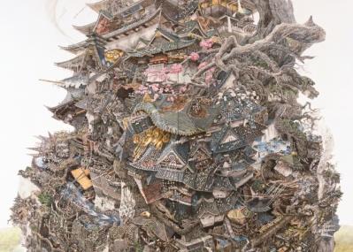 アーティスト、池田学のすべてが詰まった大規模個展「池田学展 The Pen ―凝縮の宇宙―」がスタート。
