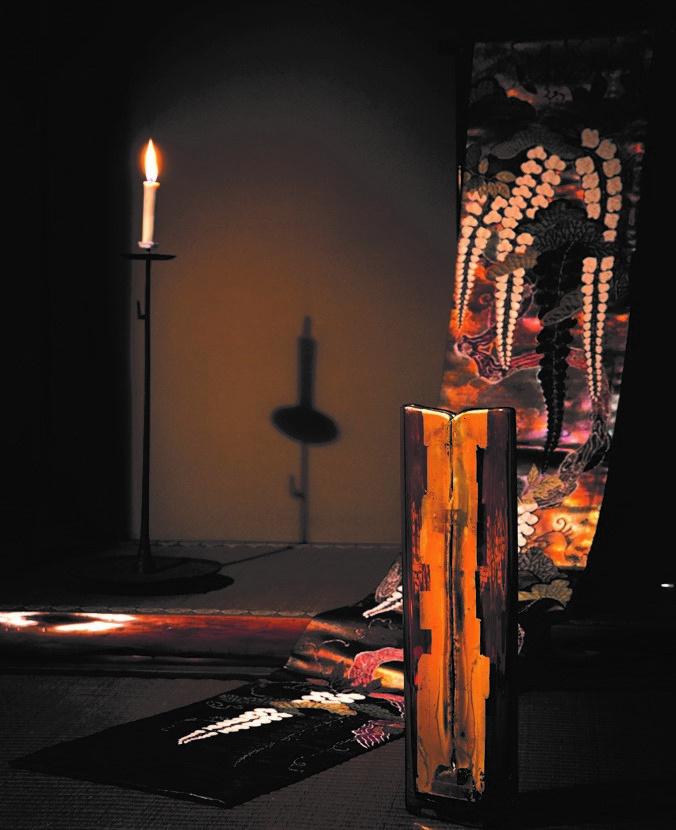 創業280年の京都の老舗帯匠が、ベネツィアのガラスアーティストとコラボ! 美の競演をご覧あれ。