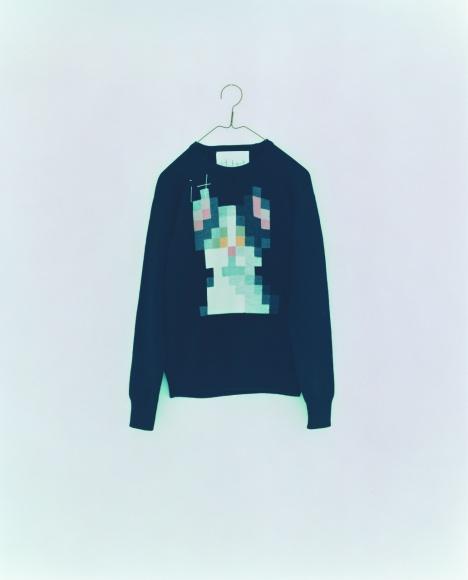 ニットとグラフィックを楽しもう、ギャラリーROCKETで「it knit」Tokyo展が開催。
