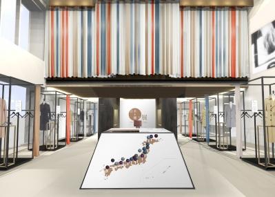 日本の服づくりを体感できる、期間限定ギャラリー『日本を纏う展』が開催!