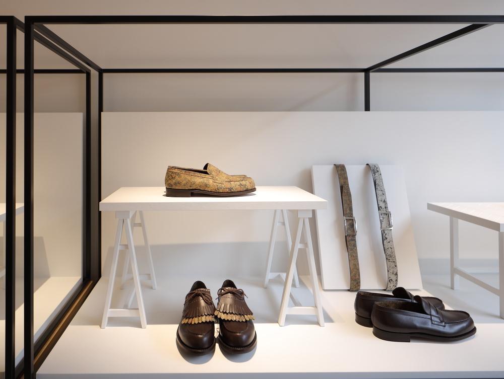 新生「ジェイエムウエストン 青山店」は、まるでパリの美術館のような空間です。