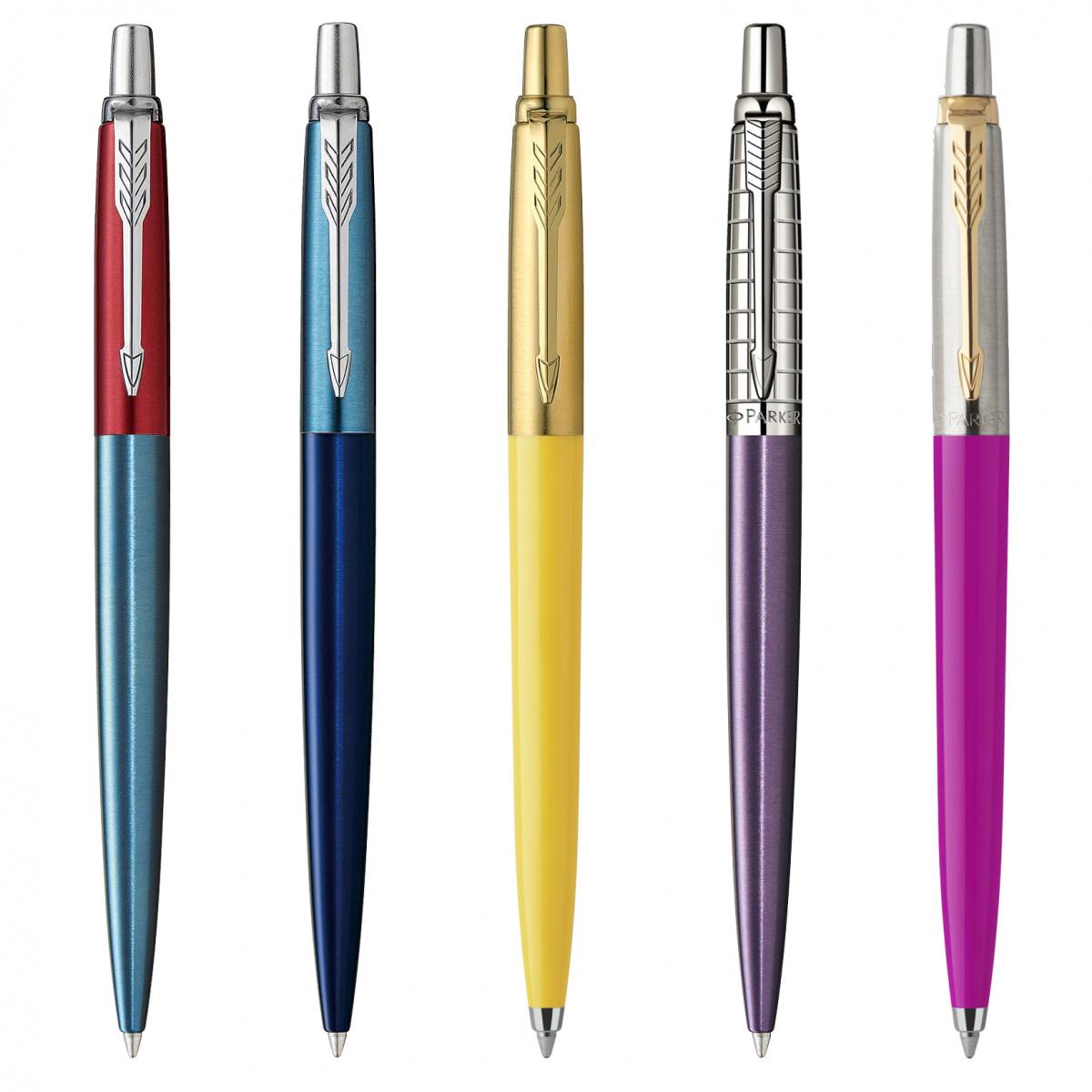 組み合わせは2000通り以上! PARKERの名定番ボールペン「JOTTER」を、自分好みにカスタマイズしよう。