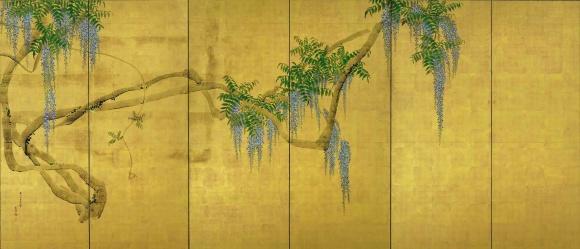 巨匠対決! 尾形光琳と円山応挙が、青山の根津美術館で相まみえる。