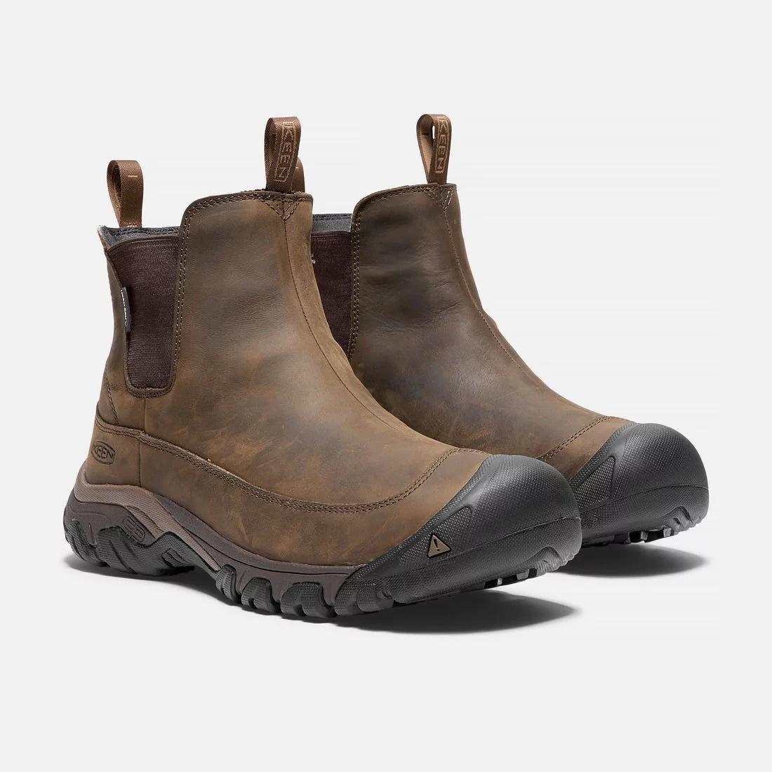 防水レザーで雨雪をガード! 「キーン」の高機能ブーツがあれば、もう悪天候は怖くない。