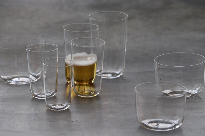 """ビールを飲むならこれがおススメ! 木村硝子店のビールグラスは""""酵母に優しい""""フォルムにこだわりました。"""