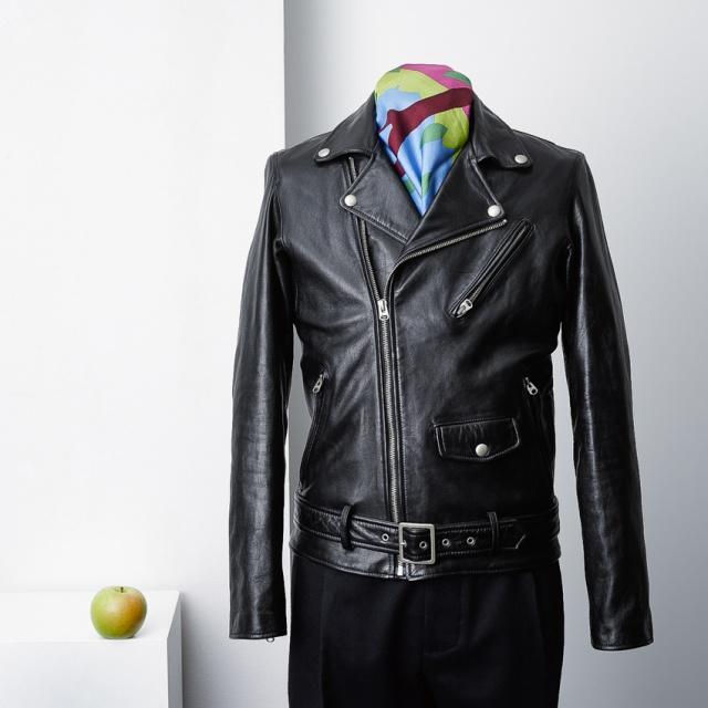 いま欲しいのは、大人が清潔に着る黒革ライダース