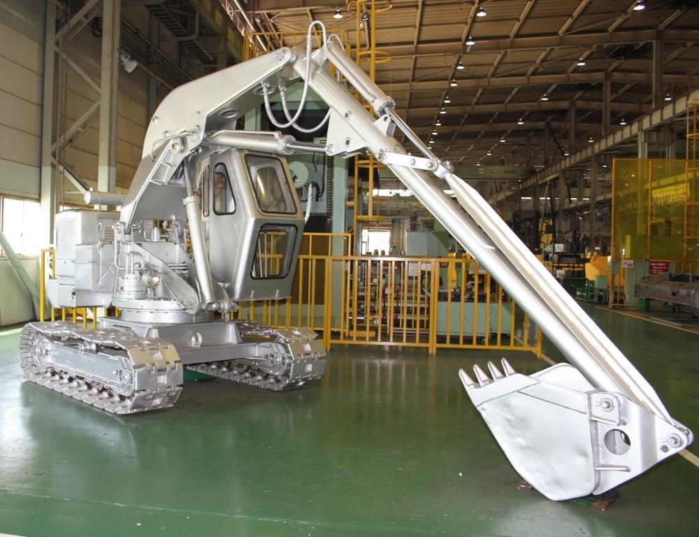 13トン級の実機が目の前に! 企画展『工事中!』で、ダイナミックな重機に圧倒。
