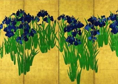 会期は残りわずか! 尾形光琳の国宝『燕子花図』と鈴木其一の『夏秋渓流図』で、初夏を楽しみましょう。