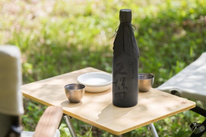 スノーピークと初コラボ、アウトドアで楽しむ日本酒「久保田 雪峰」がブームの予感!
