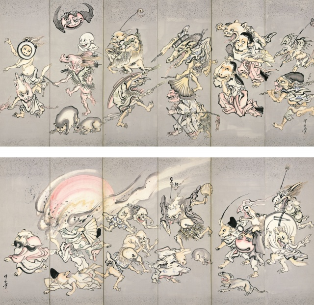 """幕末の天才絵師""""河鍋暁斎の画力..."""