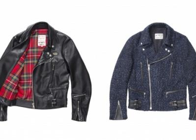ドーバー ストリート マーケット限定! 英国ルイスレザーのライダースジャケットを発売。