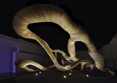 ミラノで話題を呼んだ、レクサスのインスタレーション「-amazing flow-」が日本で初披露。