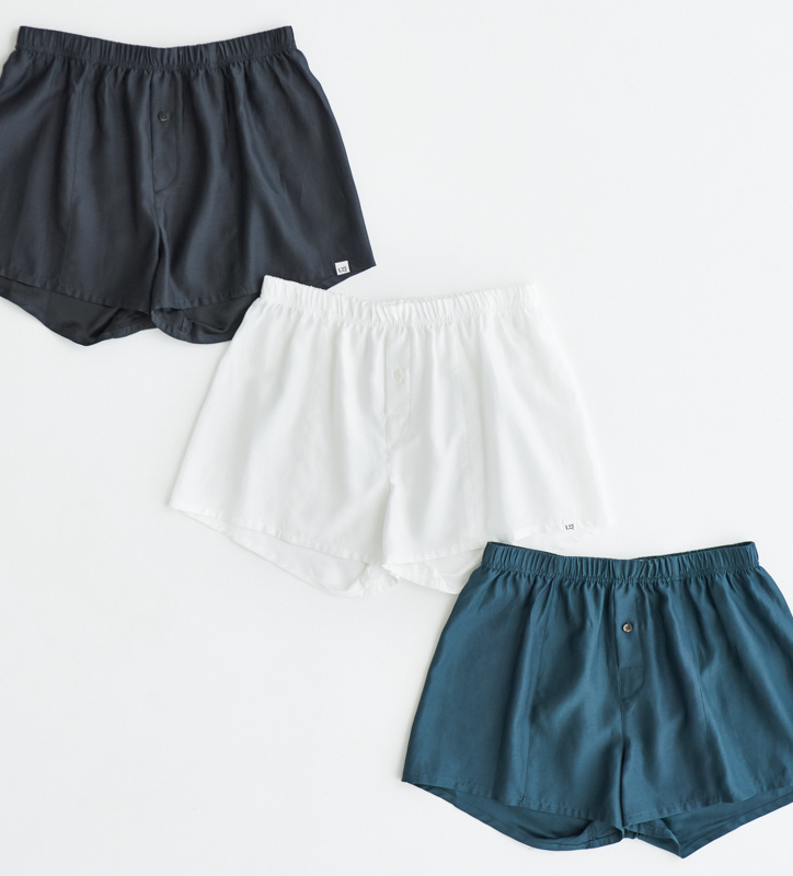 シルクなのに洗濯機OK! 京都発「ルクシー」の新作トランクスには日本のモノづくりが。