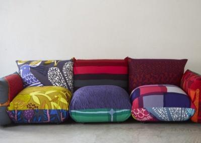 テキスタイルデザイナー鈴木マサルが、アルフレックスの名作ソファ「マレンコ」をデザイン。
