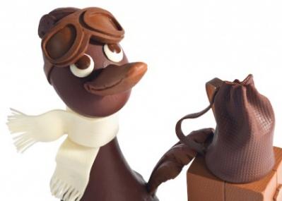 オトナも子どもも笑顔になる、眺めて食べる高級チョコレート製フィギュア