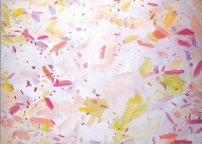 フィリピンの風景を描いたカラフルな抽象画! 新進女性作家メリッサ・ラ・オーの日本初個展へ急げ。