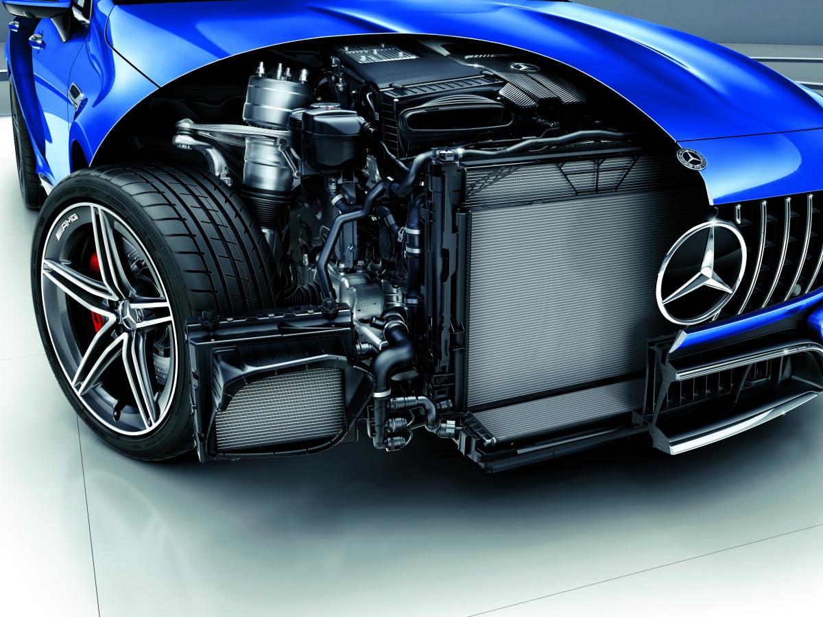4ドアで最高出力が639馬力! ある意味最強のメルセデスといえる、「メルセデスAMG GT 4ドアクーペ」が日本初上陸。