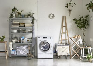 パワーはクリーニング店並み! ミーレから登場した洗濯乾燥機「WT1」は豊富な洗濯プログラムが魅力です。