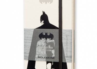 イラスト版バットマン×モレスキンの限定ハードカバーノートがソソります。