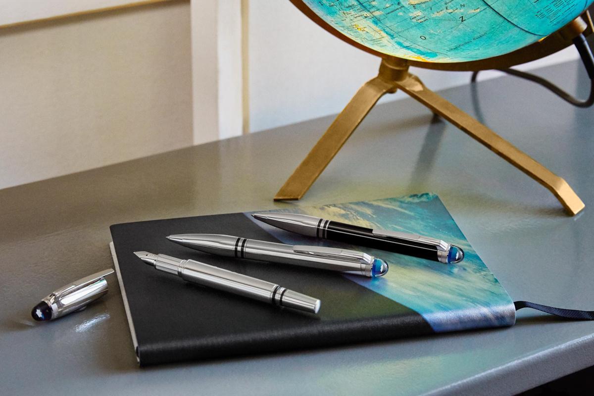 筆記具の名品「モンブラン スターウォーカー」が25年ぶりのリニューアル、バルーンで手紙を宇宙に届けるプロジェクトにご注目を。