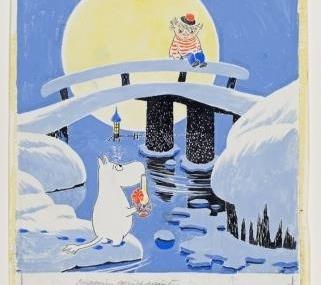 ムーミンの原画が、約200点集結! 日本で最大規模の展覧会を松屋銀座で開催。