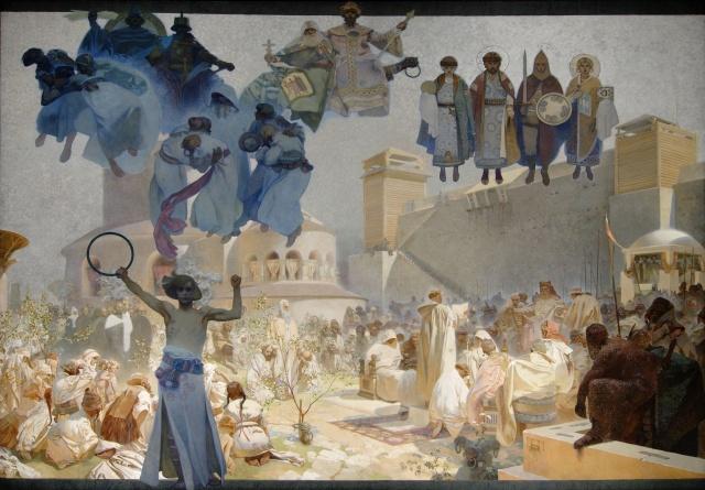 国外での全20点公開は世界初! 壮大な「スラヴ叙事詩」に画家・ミュシャが求めたものとは?
