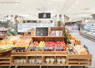 関西最大級で生まれた「無印良品 京都山科」は、地域とつながる食の一大セレクトショップだ。