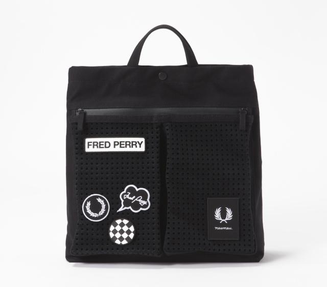 「フレッドペリー」のバッグを、ワッペンで遊びつくせ!