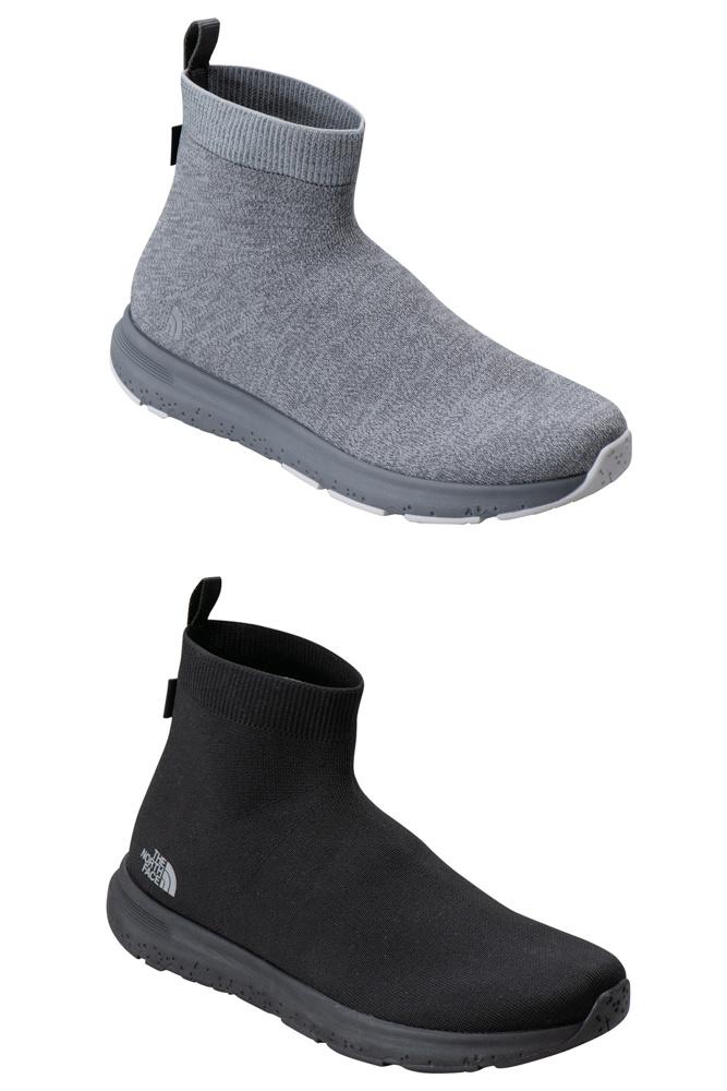 「ザ・ノース・フェイス」の最新スポーツシューズは、本格防水ながら靴下の履き心地。