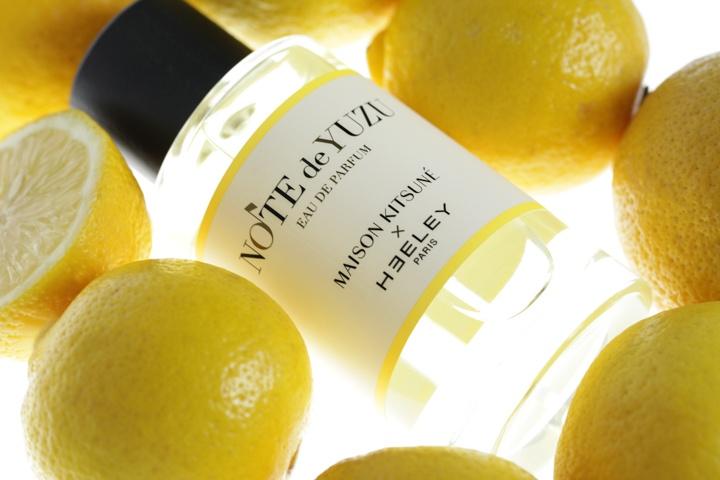 「メゾン キツネ」×「ヒーリー」のオードパルファンが登場! ふわっといい気分の柚子の香りが日本人の心に響きます。