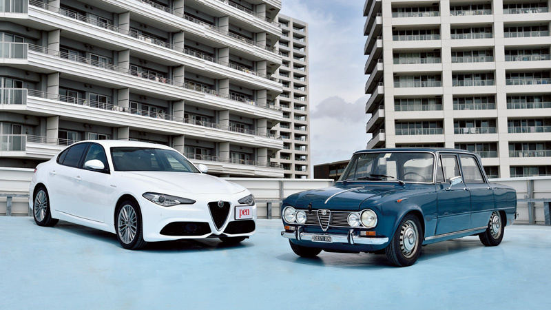 【新旧名車を比較! Vol.5】アルファロメオ・ジュリア TI  & アルファロメオ・ジュリア ヴェローチェ